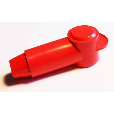 Red cover nut terminal 35mm2