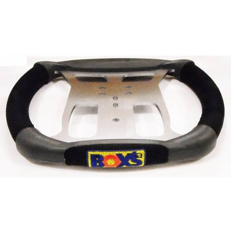 Steering wheel BOX'S EDC black/black