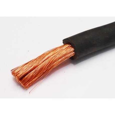 Black Hi-Flex 50mm2 cable per meter