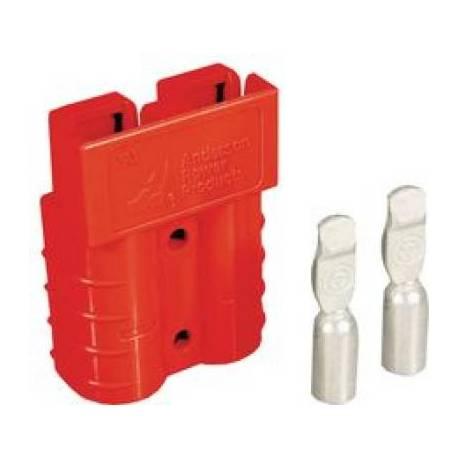 Connecteur SB50 rouge 24V pour câble de 16mm2