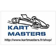 Autocollant Kart Masters 13 x 8cm
