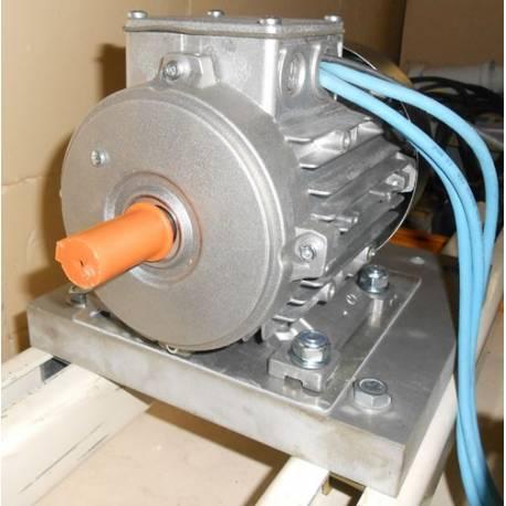 Base support moteur asynchrone SOTIC aluminium 32mm pour banc moteur