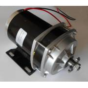 DC motor with gearbox 48V 500W
