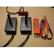 Remote control kit 2 boxes electrical 24V