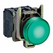 GREEN warning light 24V XB4BVB3