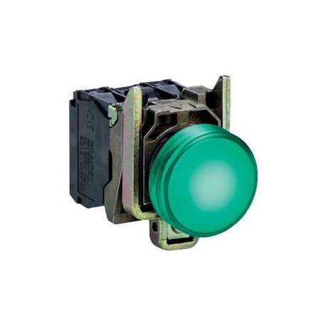 GREEN warning light 24V XB4BVB3