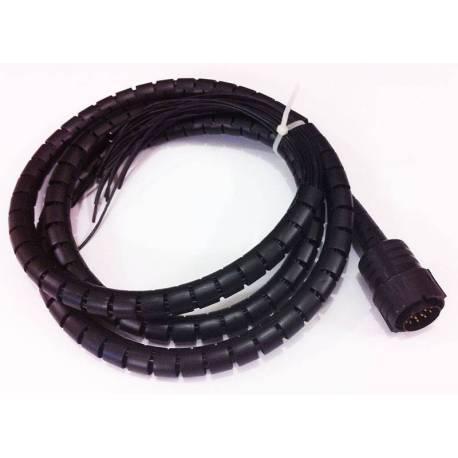 Câble de charge unitaire 17 fils mâle