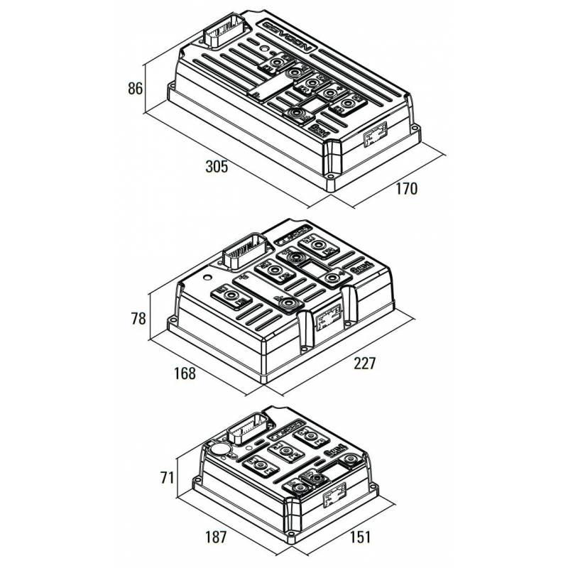 Sevcon Controller Wiring Diagram  Controller Accessories, Controller