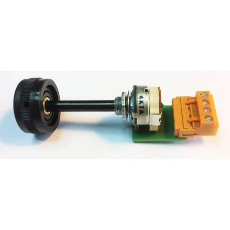 3 wires 4.7k ohms potentiometer with FS1 switch