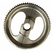 Driven toothed aluminum wheel 55 tooth for 30 mm shaft