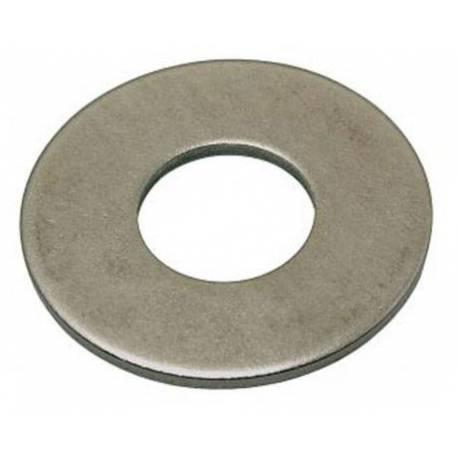 Rondelle plate zinc M08 taille L