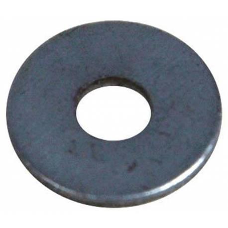Rondelle plate zinc M10 taille LL