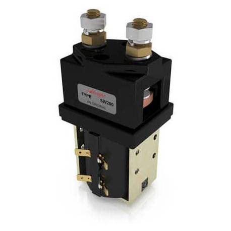 24V power relay with cover SW200