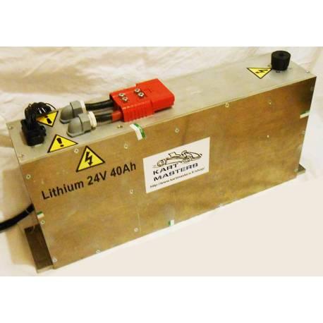 Batterie Lithium 24V 40Ah Low Density avec BMS