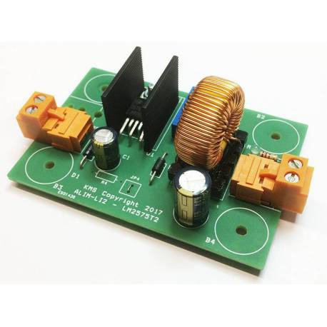 DC-DC converter 2A ALIM-LI2 assembled and tested