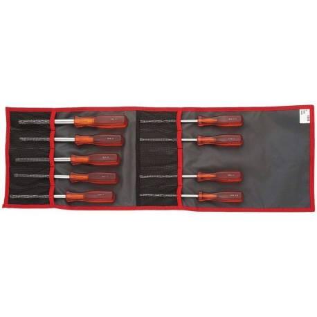 Jeu de 13 clés emmanchées de 3,2 à 14 mm