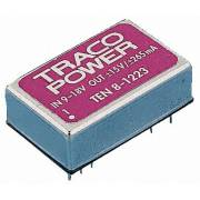 Insulated DC/DC Converter TRACO-POWER TEN 8-4823WI +/-15V 265mA