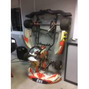 Racing kart chassis without engine