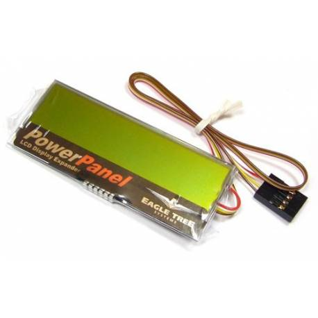 Ultra slim LCD display for eLogger MicroPower