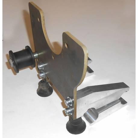 Kit de fixation pour moteur PMG132, AVEC galet