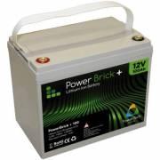 12V – 100Ah Lithium battery – PowerBrick+