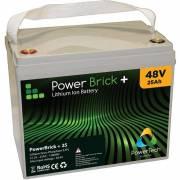 48V – 25Ah Lithium battery – PowerBrick+