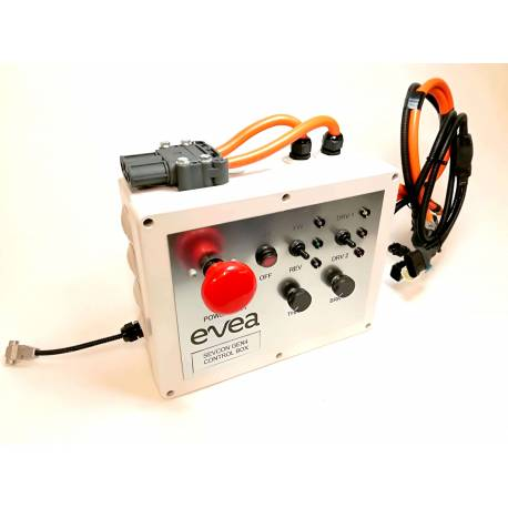 Control box for ZAPI BLE controler