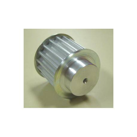 Poulie HTD 8M 30mm 18 dents aluminium diamètre 24mm