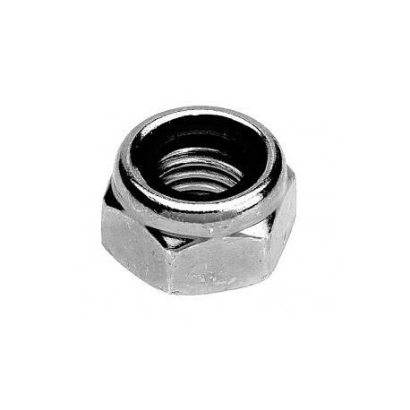Ecrou frein H AC zinc M08