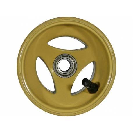 Magnesium front wheel with valve