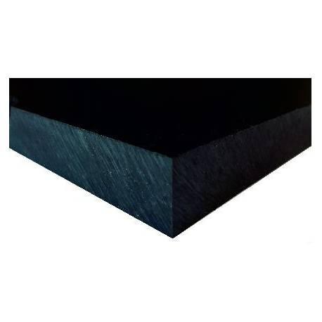 Black HDPE 1000 strip 2000x100x15 mm