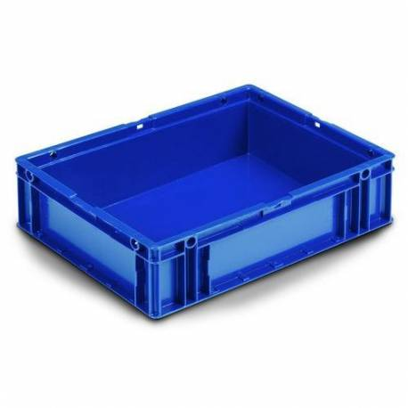 Stacking container 10 liters plastic blue
